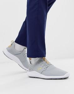 Серые кроссовки Puma Golf Ignite NXT Pro spikeless 19240101-Серый
