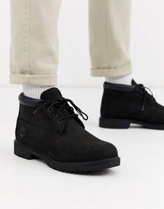 Черные ботинки чукка Timberland-Черный