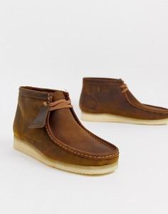 Ботинки Clarks Originals wallabee-Коричневый