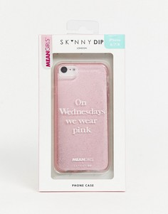 Чехол для iPhone Skinnydip x Mean Girls on Wednesday we wear pink-Розовый