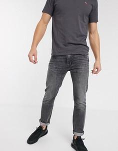 Черные узкие джинсы Levis 511-Серый