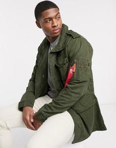 Нейлоновая куртка Alpha Industries-Зеленый