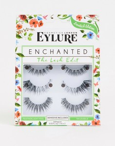 Набор накладных ресниц Eylure Enchanted Lashes - СКИДКА 23 %-Черный