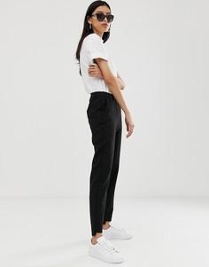 Строгие брюки Selected Amila-Черный