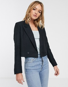 Черный короткий пиджак-смокинг & Other Stories
