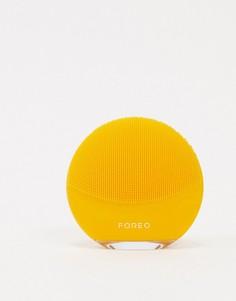 Очищающая электрическая мини-щеточка для лица желтого цвета Foreo LUNA mini 3-Бесцветный