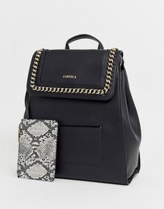 Черный рюкзак с цепочкой Carvela - Extra