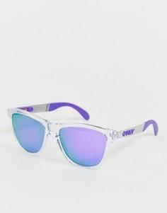 Солнцезащитные очки с фиолетовыми переливающимися стеклами Oakley Frogskins Poloroid-Фиолетовый