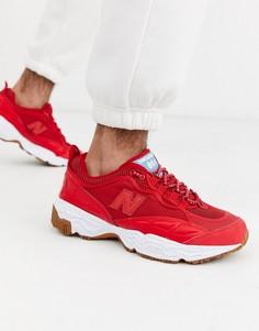 Красные кроссовки New Balance 801-Красный