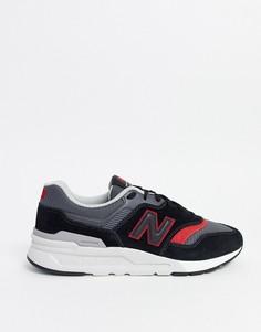 Черные кроссовки New Balance 997-Черный