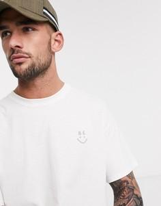 Белая футболка Topman-Белый