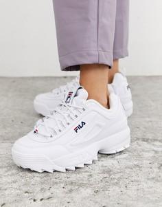 Белые кроссовки Fila Disruptor-Белый