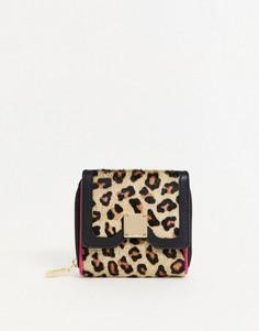 Кожаный кошелек с леопардовым рисунком Paul Costelloe-Мульти