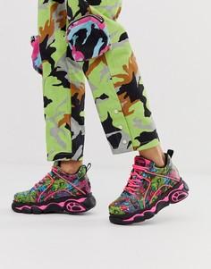 Массивные кроссовки Buffalo x Jaded London dragon-Мульти