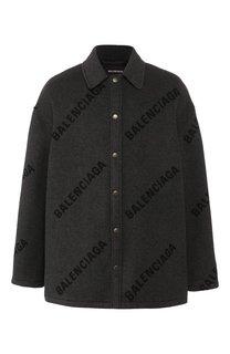 Кашемировая куртка Balenciaga