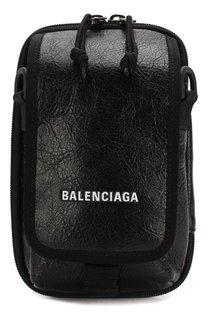 Кожаная сумка Explorer Balenciaga