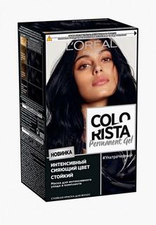 """Краска для волос LOreal Paris L'Oreal """"Colorista Permanent Gel"""", оттенок Ультра Черный"""