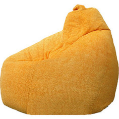Кресло-мешок POOFF Груша велюр персиковый XXL