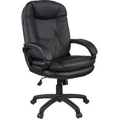 Кресло руководителя Helmi HL-E68 Reputation экокожа черная мягкий подлокотник