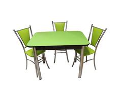 Обеденная группа Былина-Лилия зеленый Ст 33
