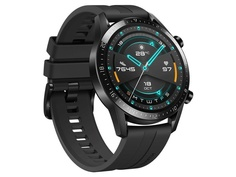 Умные часы Huawei Watch GT 2 Matte Black / Black Fluoroelastomer 55024335