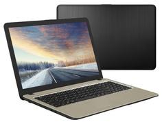 Ноутбук ASUS VivoBook A540UA-DM1486 Black 90NB0HF1-M20950 (Intel Pentium 4417U 2.3 GHz/4096Mb/128Gb SSD/Intel HD Graphics/Wi-Fi/Bluetooth/Cam/15.6/1920x1080/Endless OS)