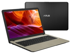 Ноутбук ASUS VivoBook X540BP-GQ134 Black 90NB0IZ1-M01710 (AMD A6-9225 2.6 GHz/4096Mb/256Gb SSD/AMD Radeon R5 M420 2048Mb/Wi-Fi/Bluetooth/Cam/15.6/1366x768/Endless OS)
