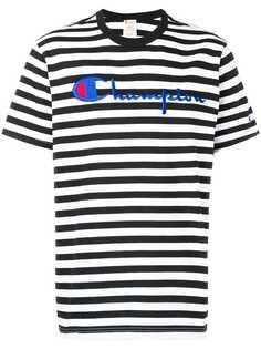 Champion футболка в полоску с логотипом