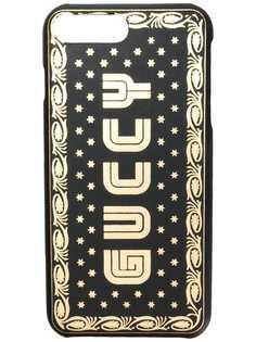 Gucci чехол для iPhone 8 Plus с логотипом Guccy