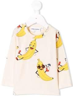 Mini Rodini толстовка с принтом бананов