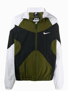 Nike спортивная куртка со вставками