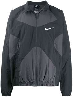 Nike куртка на молнии со вставками