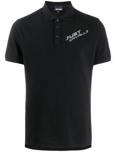 Just Cavalli рубашка-поло с логотипом
