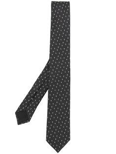 Valentino Garavani жаккардовый галстук с логотипом VLTN