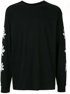Sasquatchfabrix. футболка с принтом и длинными рукавами