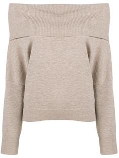Chalayan свитер с открытыми плечами