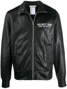 Helmut Lang спортивная куртка с контрастной полоской