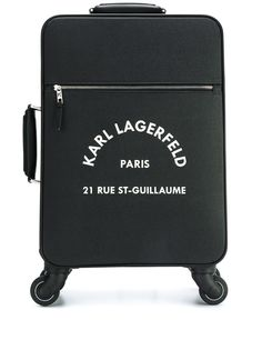 Karl Lagerfeld чемодан с логотипом