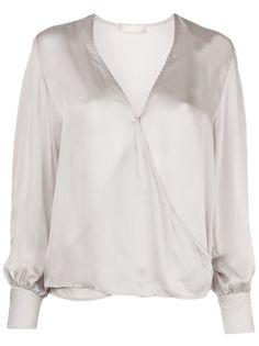 Fleur Du Mal блузка с запахом