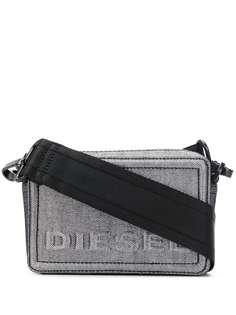 Diesel джинсовая сумка через плечо Boxy