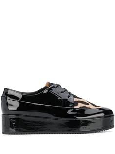 Hogl туфли Mody на платформе со шнуровкой