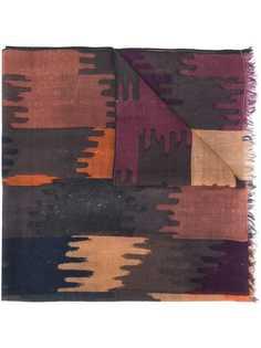 Isabel Marant шарф Yaele с абстрактным принтом