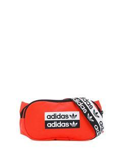 adidas поясная сумка с нашивкой-логотипом