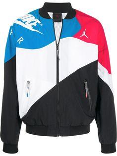 Jordan легкая куртка в стиле колор-блок