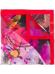 Paul Smith платок с абстрактным цветочным принтом