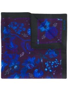 Paul Smith платок-паше с цветочным принтом