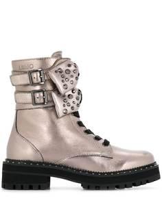 LIU JO ботинки с бантами