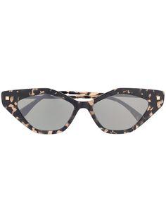 Mykita солнцезащитные очки Gapi в оправе кошачий глаз
