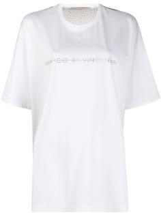 Marco De Vincenzo футболка со стразами