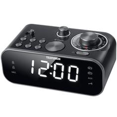 Радио-часы Telefunken TF-1593 Black/White